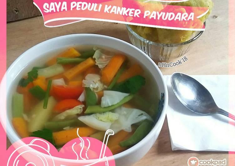 01. Sup paling simpel