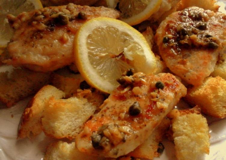 Baked Lemon Chicken