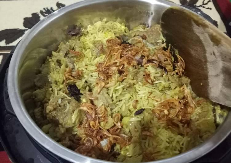 Cara Menyajikan Nasi Kebuli Magic Com Resep Masakanku
