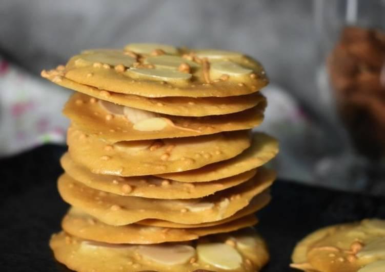 Crispy Almond Cheese TUILES#maratonraya#kudapan#minggu4