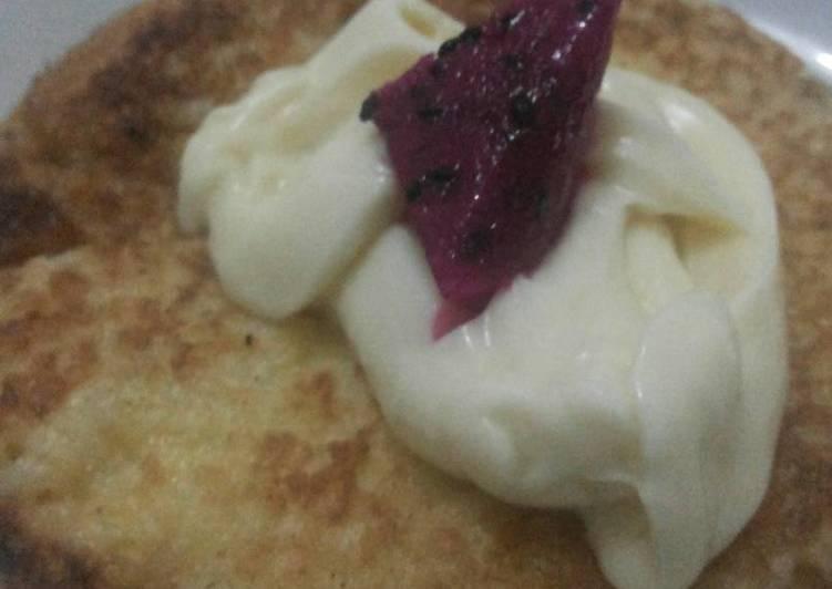 Omelet Nasi (alternatif sarapan anak - mpasi)