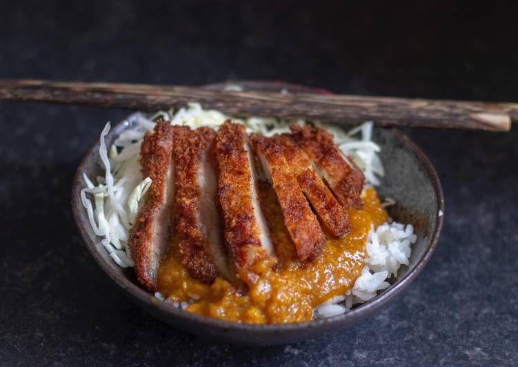 Easiest Way to Make Favorite Japanese pork katsu curry 🍛