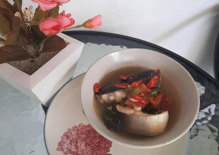 Sup bandeng kuah bening