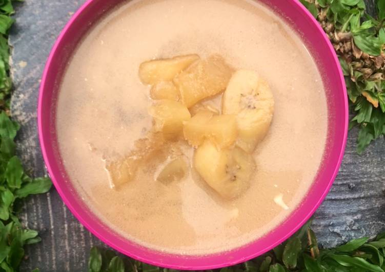 Kolak pisang dan singkong