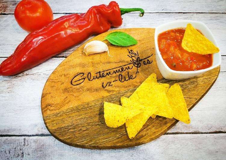 Salsa szósz 5 perc alatt recept foto