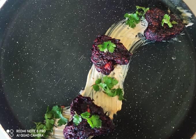 Beetroot kabab