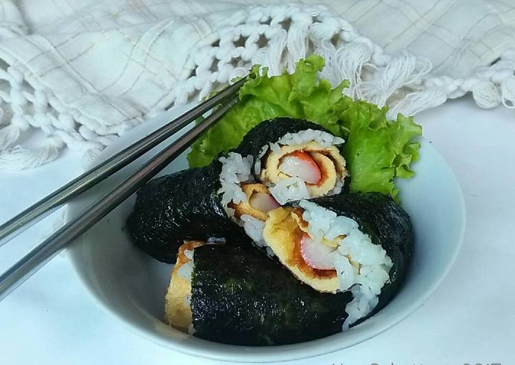 Resep Nasi Nori Telur Dadar #pr_recookMantenElise yang Lezat