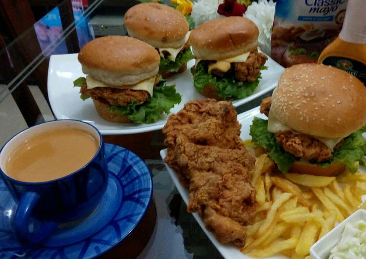 Recipe of Speedy Zinger Burger