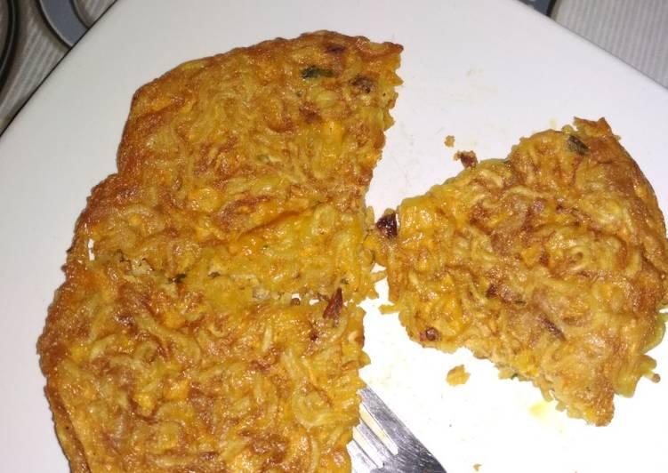 Omelet Indomie Ayam Geprek