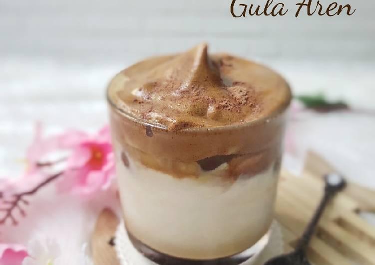 Dalgona Coffee Gula Aren