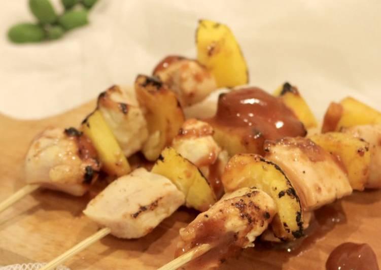 Chicken & Yellow Pepper BBQ