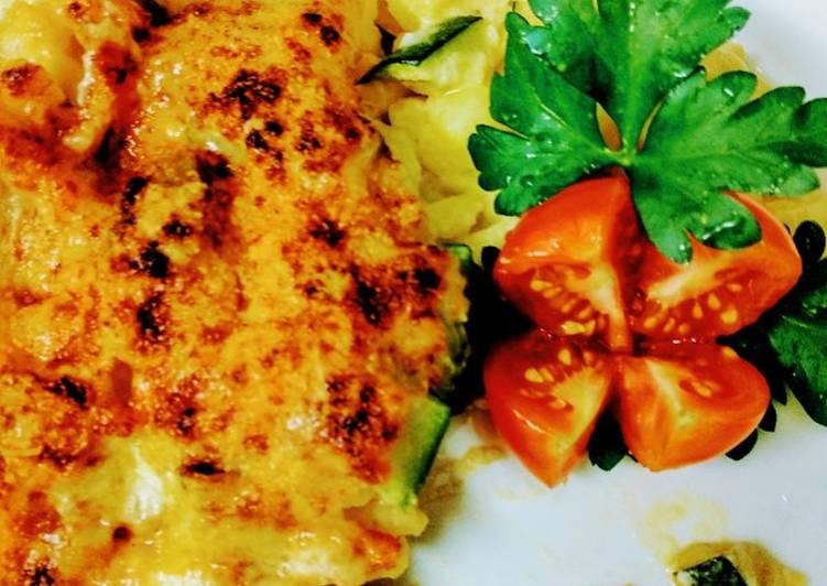 Recipe: Delicious Vegetarisch gratiniert