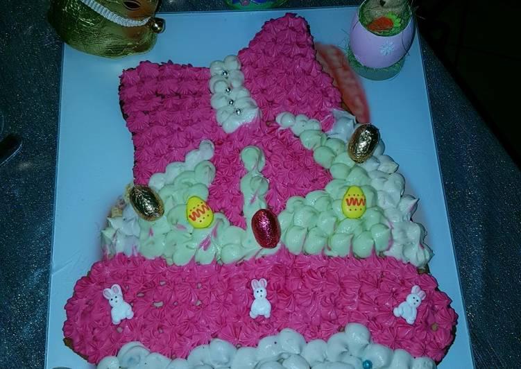 Recettes Number cake de Pâques