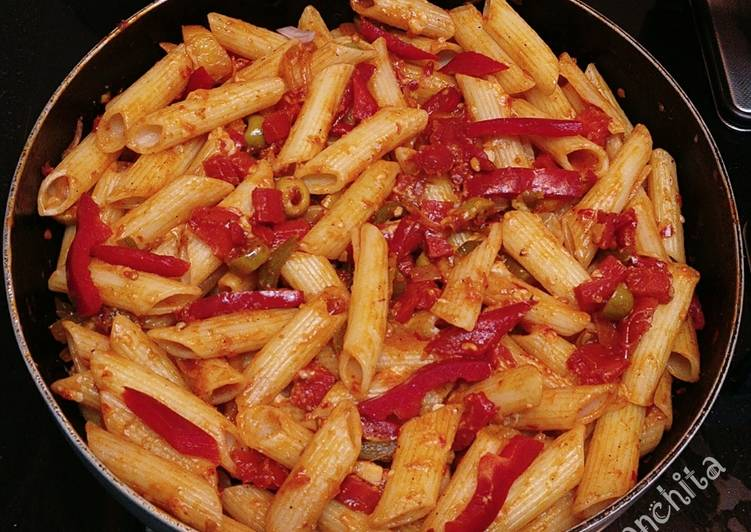 Tomato Vegetable Garden Pasta