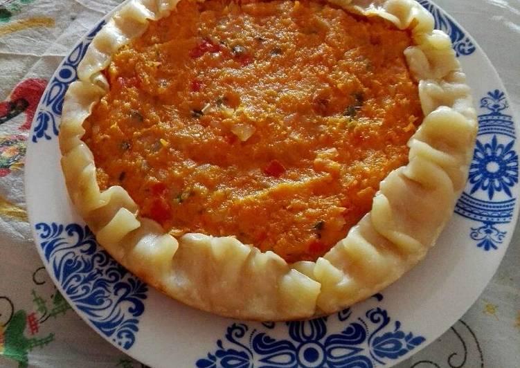Tarta De Calabaza Zanahoria Y Queso Receta De Clau Mar Cookpad
