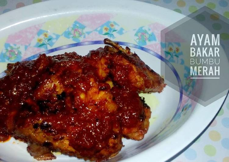 Resep Ayam Bakar Bumbu Merah Simple Oleh Lala Priyono Cookpad