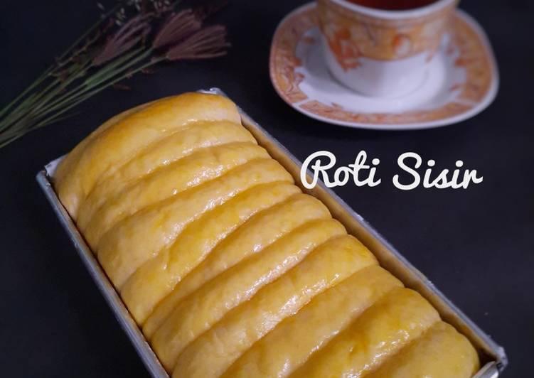 Roti Sisir (metode autolysis)