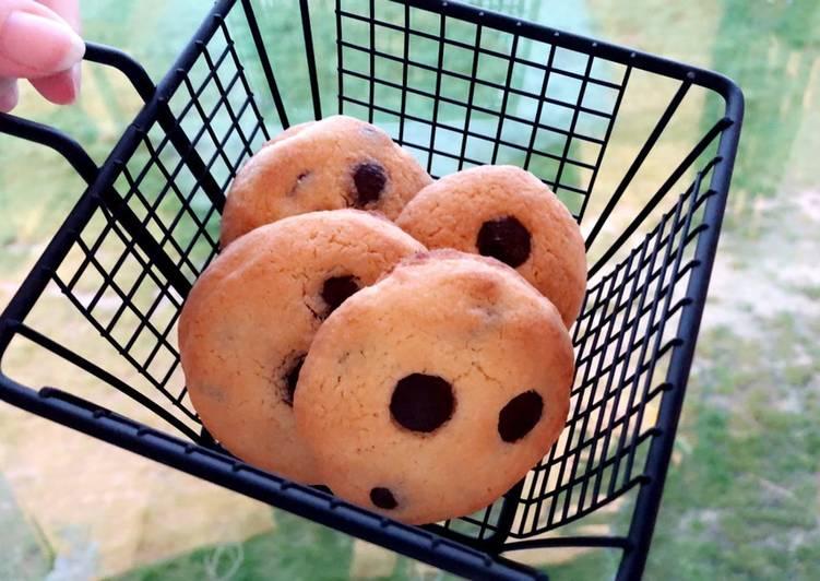 Le moyen le plus simple de Préparer Délicieux Cookies coco/choco