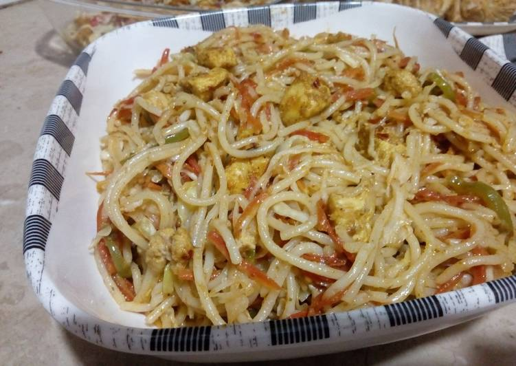 Use Food to Elevate Your Mood Fajita spaghetti