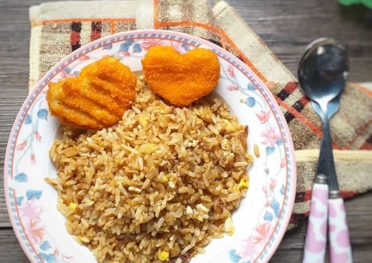 Resep 53. Nasi goreng simple untuk anak Paling Joss