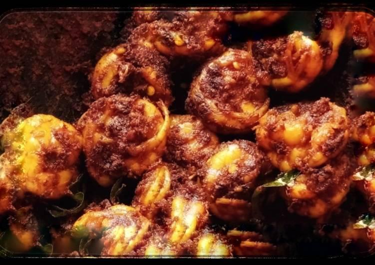 Malabar Prawn Roast