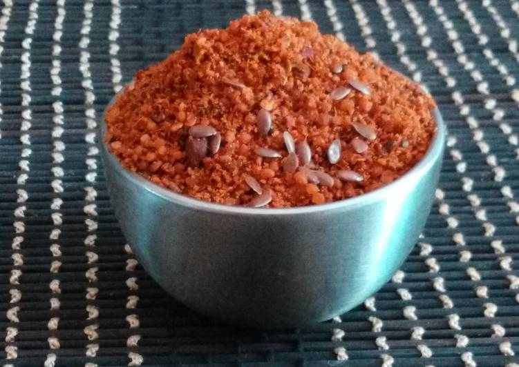 Protein rich Idli Powder / Gun Powder