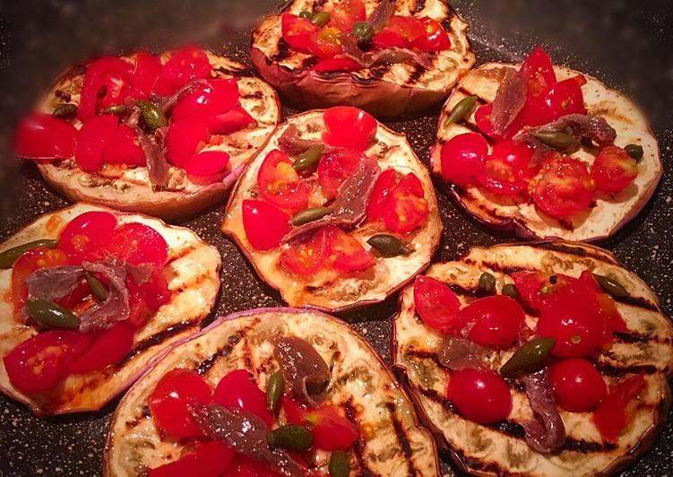 Pizzette di melanzana