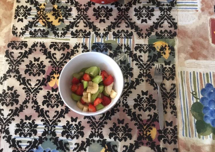 Step-by-Step Guide to Prepare Speedy Fruit salad
