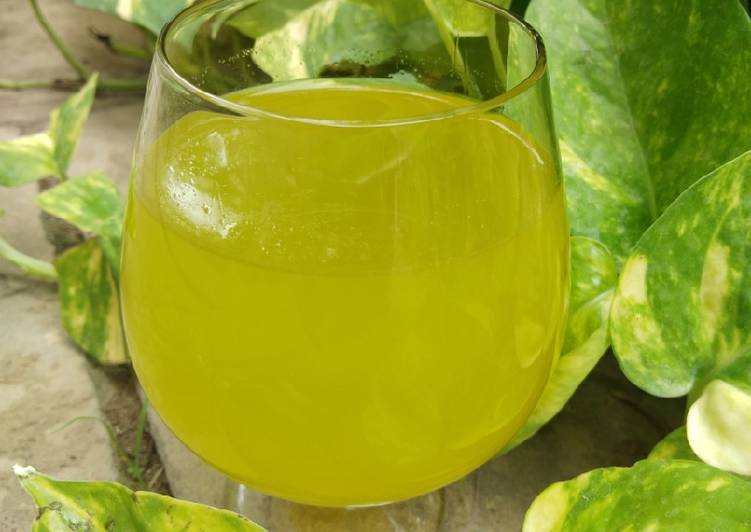 Recipe of Perfect Mint lime juice