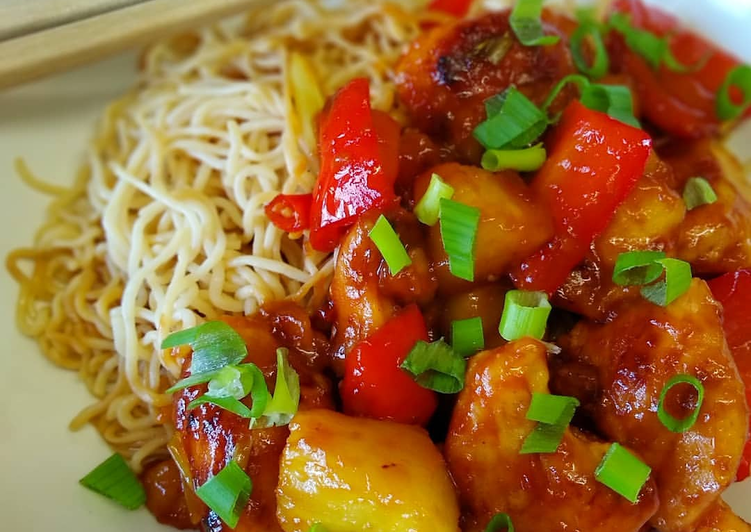 Steps to Prepare Homemade Sweet 'n' Sour Chicken