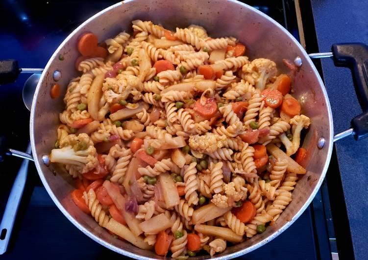 10 people rotini pasta