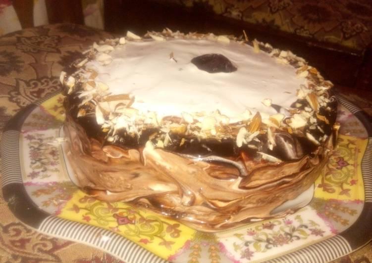 Easiest Way to Cook Perfect Vanilla cream cake