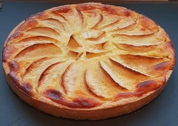 recette Tarte alsacienne aux pommes délicieux