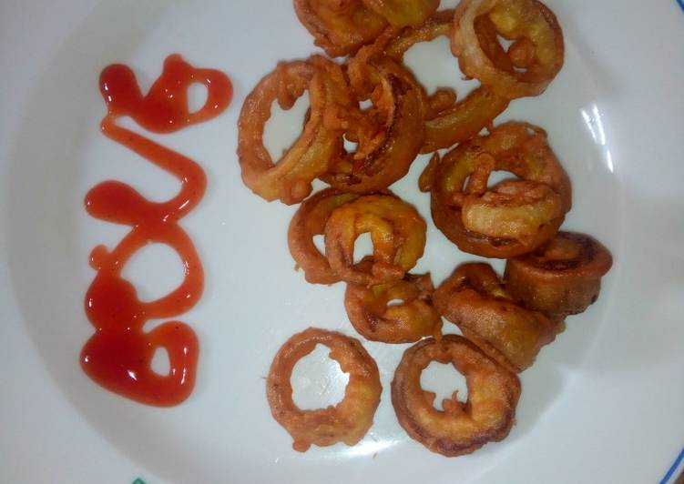 Ooh Onion rings!