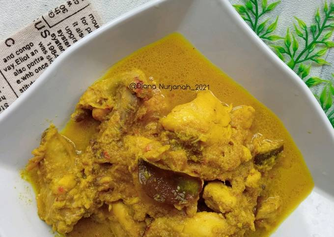 Resep Opor Ayam Bumbu Kuning yang Bikin Ngiler