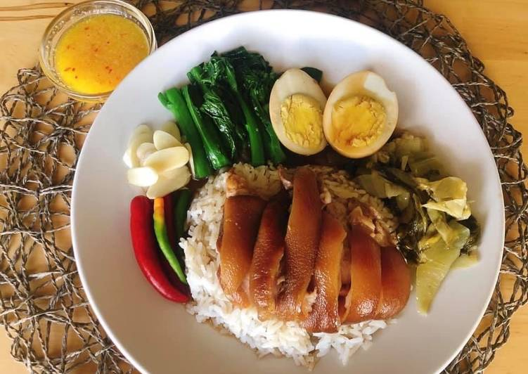 Easiest Way to Make Award-winning Stewed Pork Leg Recipe •Thai style •Thai Street Food |ThaiChef food