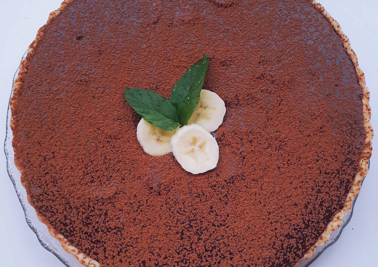 Facile Pas Cher  Tarte au caramel et chocolat