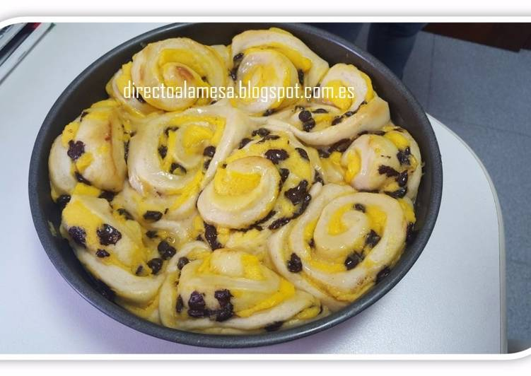 Brioche Con Crema Pastelera Receta De Directoalamesa Cookpad