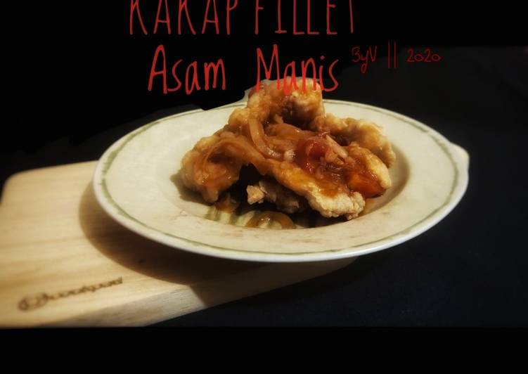 Kakap Fillet Asam Manis #Week18