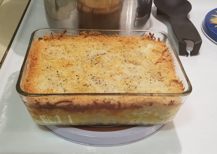 Grandma's Homemade Macaroni & Cheese