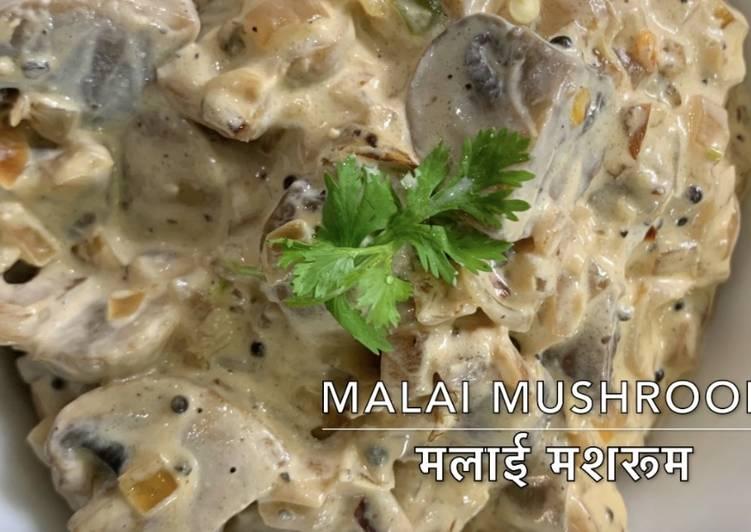 Easy creamy mushroom
