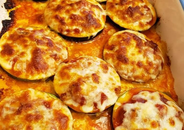 Recipe of Favorite Mini Zucchini Pizzas