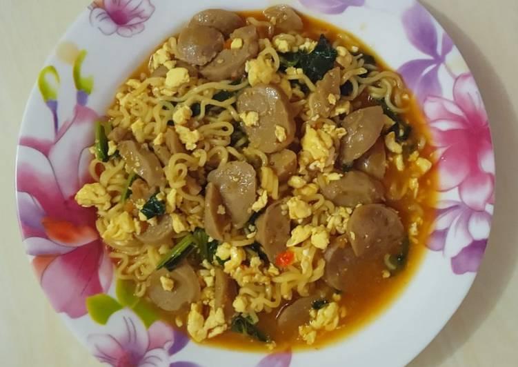 Resep Indomie Tektek / Indomie Nyemek Paling Joss