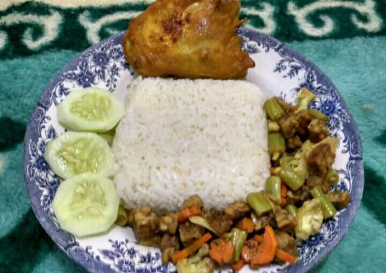 Resep Nasi Rames , Bisa Manjain Lidah