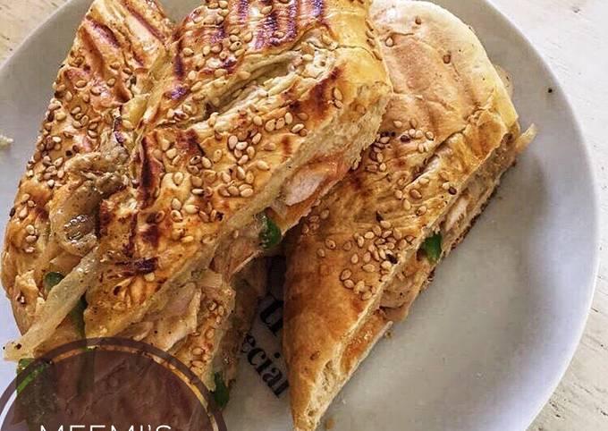 Recipe of Favorite Panini chicken sandwich