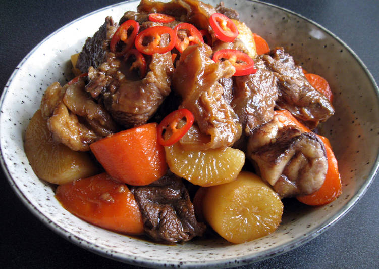 Your State Of Health Can Be Impacted By The Foods You Choose To Eat Braised Beef Shank, Daikon & Carrot