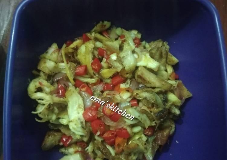 71.Ayam suwir sambal matah