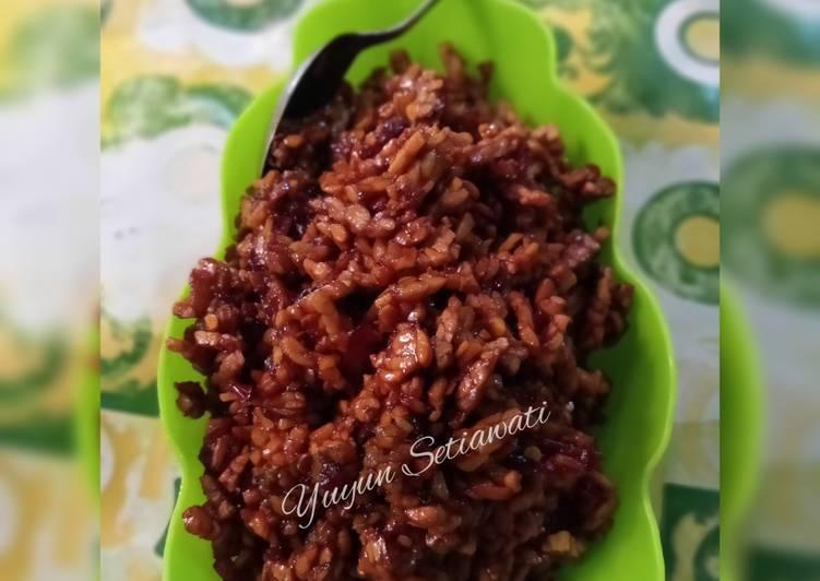 Sambal goreng tempe kering simpel