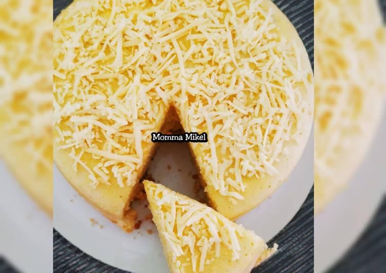 resep masak Bolu jagung manis 1 telur panggang rice cooker - Sajian Dapur Bunda