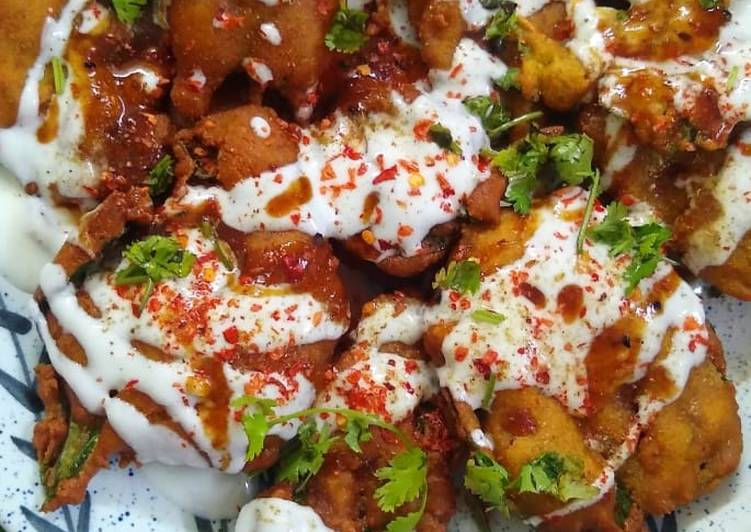Simple Way to Prepare Award-winning Crispy Palak chaat
